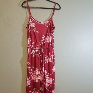 Dresses & Skirts - NWOT Maroon Romper with Pockets